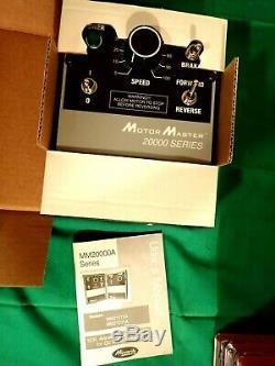 Minarik Motor Master 20000 Series Variable Speed Control Drive Model MM21111A