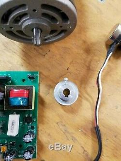 Mini Metal Lathe 3/4 hp Motor & Control board & all controls 550W Variable Speed