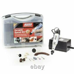 Minitool 32971 Variable Speed Rotary Kit Collet chuck Ventilated motor