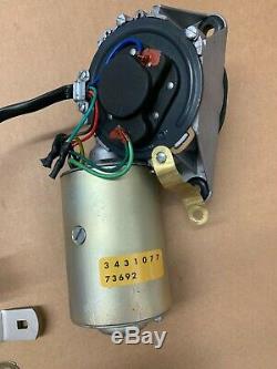 Mopar 3 Speed Wiper Motor Variable 1970-71 E B Body Cuda 3431077 Lever 2822289