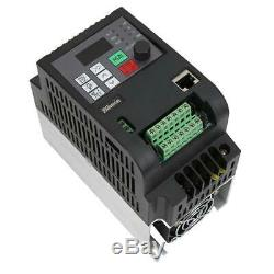 Motor Speed Control Variable Frequency Single Phase to 3-Phase 2.2KW 10A