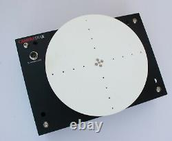 Motorised and programmable variable speed Lazy Susan turntable