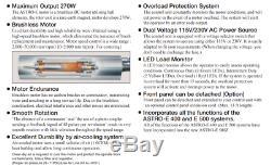 NEW NSK Nakanishi EM-505 Brushless Motor Variable Speed 50,000 RPM 30mm Ø 270w