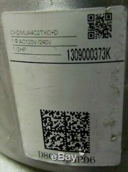 NEW Trane MOT14416 / DMUA4C2TX Motor 1/2 HP Variable Speed D803584P06 120/240V