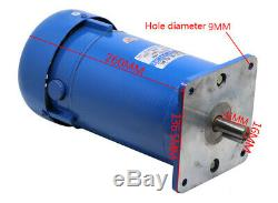 New 750W Permanent Magnet DC Motor Variable Speed Control Motor 1800RPM DC 220V