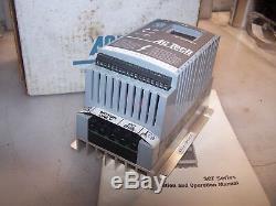 New Ac Tech. 5 HP Vfd Variable Speed Ac Motor Drive 480 Vac Model Sf405