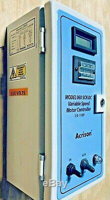 New Acrison Model 060 Scr-dc Variable Speed DC Motor Controller 1/8-1hp Freeship