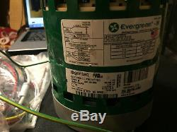 New Genteq Evergreen, 5SME39HXL110, Variable Speed Blower 1/2hp Motor