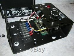 New Minarik Motor Master 20000 DC Drive, Variable Speed Motor Control MM23101A