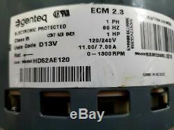 OEM Carrier Bryant HD52AE120 ECM Variable Speed Blower Motor 2.3 2016