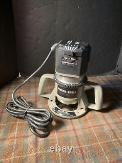 Porter Cable 7518 Variable Speed Router 75182 Motor 15 Amp Gently Used
