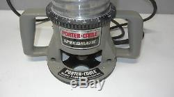 Porter Cable 75182 Production Router 7518 With 75361 Base Variable Speed Motor