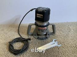 Porter-Cable Variable Speed Production Router 75182 Motor 75361 Base TESTED