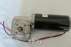 Powerful 12V DC Worm Gear Motor 2.5 1/14HP@ 82RPM Reversible/Variable Speed-NEW