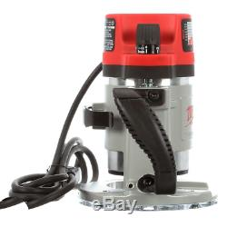 Production Router 3-1/2 Max HP Fixed-Base Powerful 15 Amp Motor Variable Speed