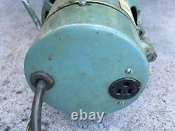 REX / Hitachi Industrial Variable Speed Sewing Machine Motor & Pedal 1/3hp 110v
