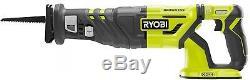 Reciprocating Saw Kit Cordless Brushless Motor 18 Volt Variable Speed Power Tool