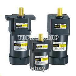 Reducer motor 6W-400W small AC gear speed control variable speed brake