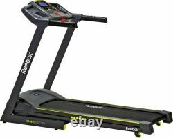 Reebok One GT30 Lite 16kph Variable Incline Foldable Treadmill Only 3 months old