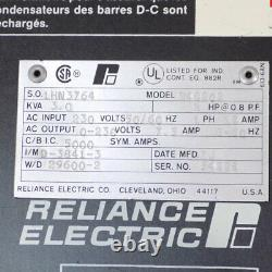 Reliance 3KVA 2HP 1-Ph 230V 7.5A Variable Speed AC Drive Motor Controller VFD