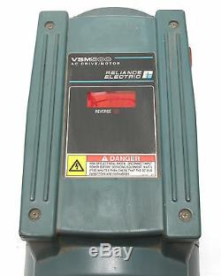 Reliance VSM500 Variable-Speed AC Drive withIntegrated 1HP 3-phase Motor