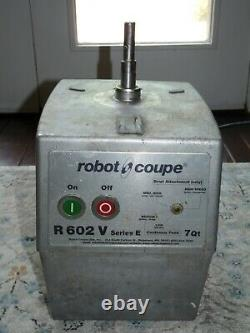 Robot Coupe R602 Series E Food Processor 3 HP Base Motor Only for Parts 115V