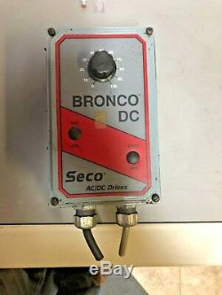 SECO Bronco Model B160 15A Variable Speed Control Drive AC/DC electric motor