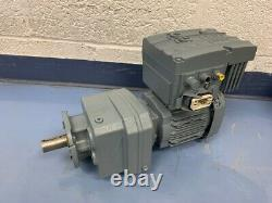 SEW Movimot AS-I RF37 MM03D 0.37kw Variable Speed Conveyor Mixer Motor & Gearbox