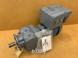 SEW Movimot AS-I RF37 MM05D-503-00 0.55kw Variable Speed Motor & Gearbox