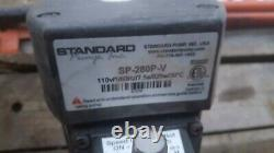 STANDARD drum pump 47 inch SP-pp-47 with electric motor variable speed barrel