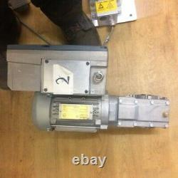 Seimens motor gearbox and inverter 0.25kw, Variable ouput speed 20 to 123 RPM
