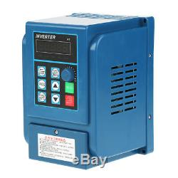 Single To 3-Phase Motor Governor Variable Frequency Drive Inverter CNC 220V/380V