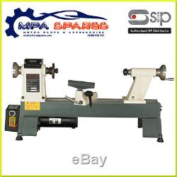 Sip 01936 Variable Speed Cast Iron MIDI Wood Lathe 550w Motor 500 3500 RPM