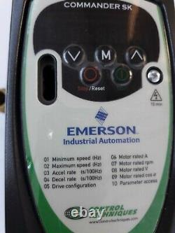 Skb3400075 Emerson. Ac Variable Speed Drive For 3 Phase Induction Motor 0.75kw