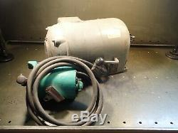 South Bend 9 Lathe Silent Chain Drive Motor 3/4HP Variable Speed 115V Reversing