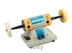 TM-3 Variable Speed Double Spindle Polishing Motor, 8,500 Max RPM