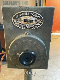 The Ak Variable Controller Northwestern Electric Co Fan Motor Speed Controller