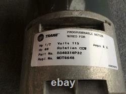 Trane American Standard MOT6648 D340316P32 GE 5SME39HL0012 ECM Blower Motor