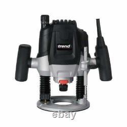 Trend Router T7EK 1/2 Variable Speed Router 2100W Motor 240v uk plug