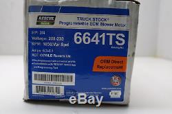 US Motors 6641TS Blower Motor X-13 ECM Variable Speed 1050RPM 208-230V 3/4HP 6A