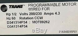 VARIABLE SPEED GE ECM 2.3 MOTOR 5SME39HL0252 D341314P34 MOT09262 (0619) B1 CPa