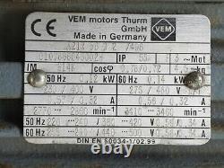 VARIABLE SPEED MOTOR 0-383 turns / ASA # 2 8804
