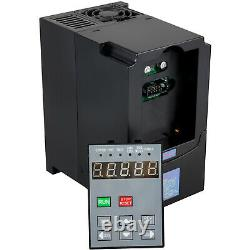 VEVOR 4KW 380V 5HP 20A VFD Variable Frequency Drive Speed Control VSD Motor