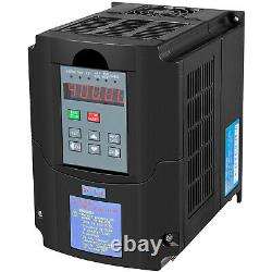 VEVOR 5HP 4KW Variable Frequency Drive Inverter VFD 220V Motor Speed Control VSD