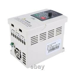 VFD Variable Frequency Drive 380V 2.2KWfor Motor Speed Control 3-Phase Input