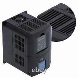 VFD Variable Frequency Drive Control Inverter Motor Drive Speed Controller 4KW