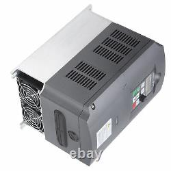 Variable Frequency Drive 220V to 380V 3Phase Motor Speed Controller 11KW HQ