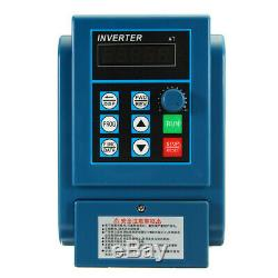 Variable Frequency Drive Inverter CNC Motor Speed VFD Single To 3 Phase 220/380V