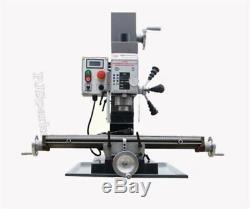 Variable Speed Brushless Dc Motor Milling And Drilling Machine WMD25V 220V Y gr