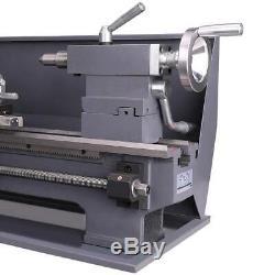 Variable-Speed DC Motor 750w Automatic Mini Metal Lathe 8x16